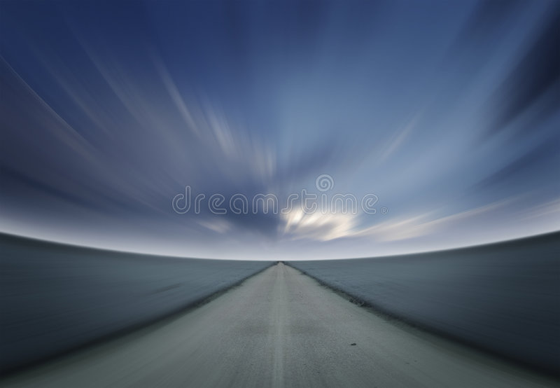 Verzendende Horizon stock foto