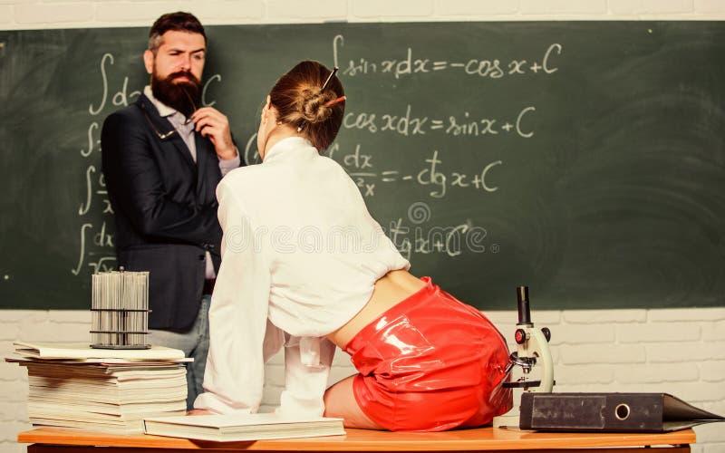 Flirten met leerkracht