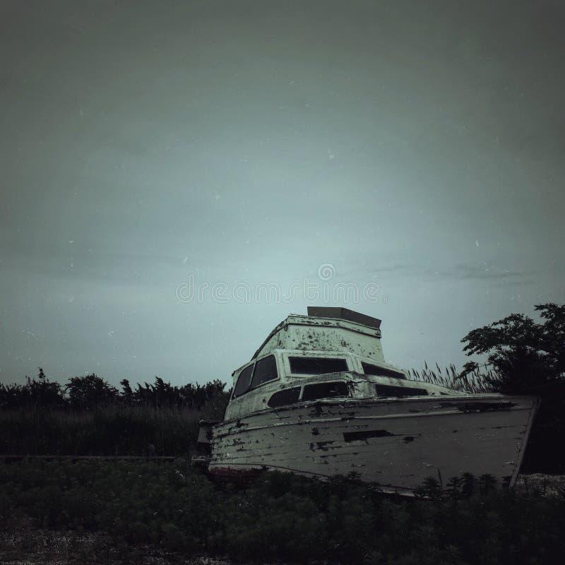 Verzichtschiff stockfoto