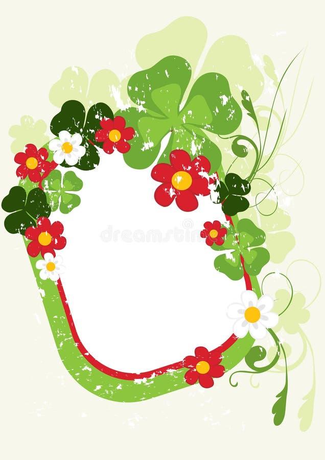 Download Verzieren Sie Blumenkarte vektor abbildung. Illustration von kreativ - 9079180