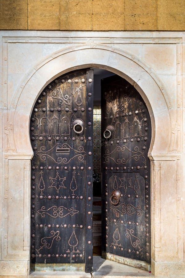 Verzierte Tür stockfotos