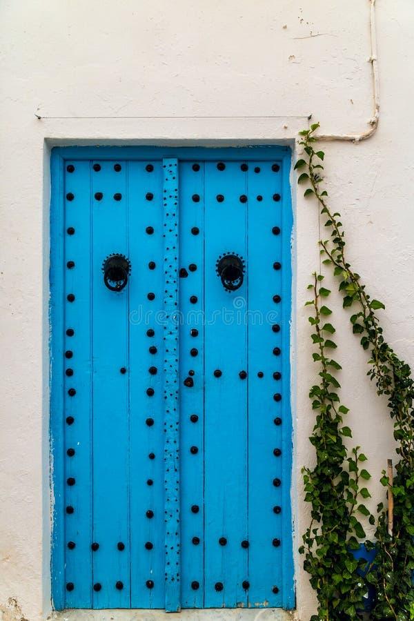 Verzierte Tür lizenzfreie stockbilder