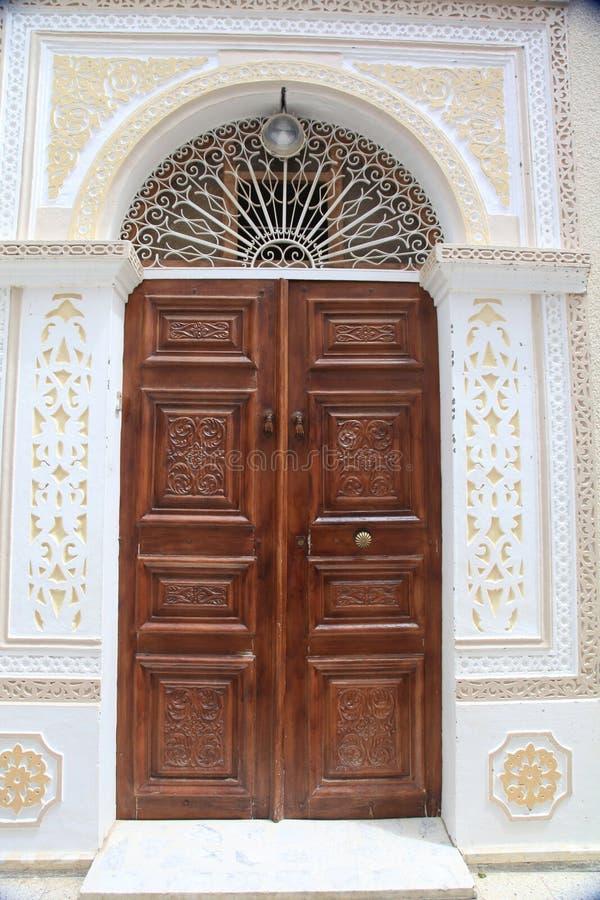 Verzierte Tür stockbilder
