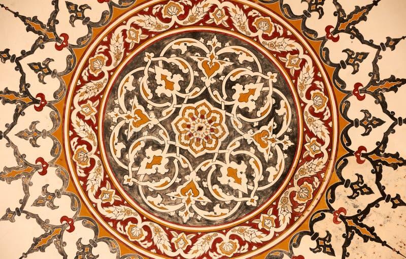 Verzierung von der Selimie Moschee lizenzfreies stockfoto