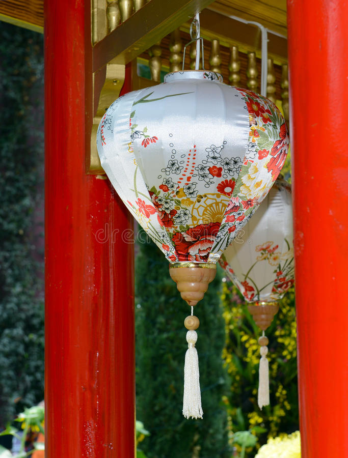Verzierungen des traditionellen Chinesen für Feier des Chinesischen Neujahrsfests stockbilder