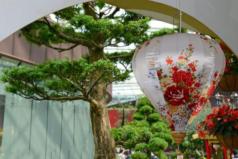 Verzierungen des traditionellen Chinesen für Feier des Chinesischen Neujahrsfests lizenzfreie stockfotografie