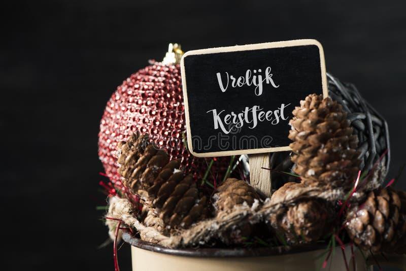 verzierungen und frohe weihnachten des textes auf deutsch stockbild bild von celebrate