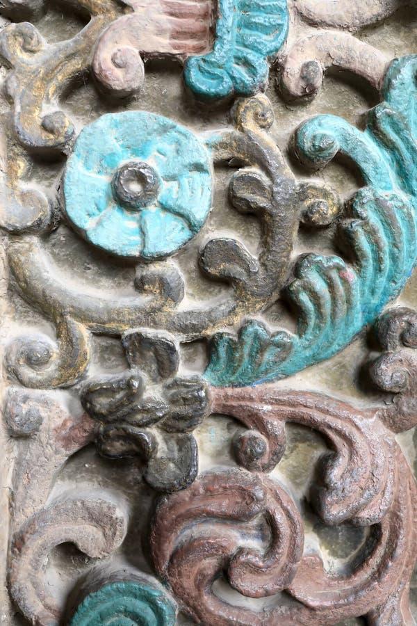 Verzierungshaupteingang von Etchmiadzin-Kathedrale stockfotografie