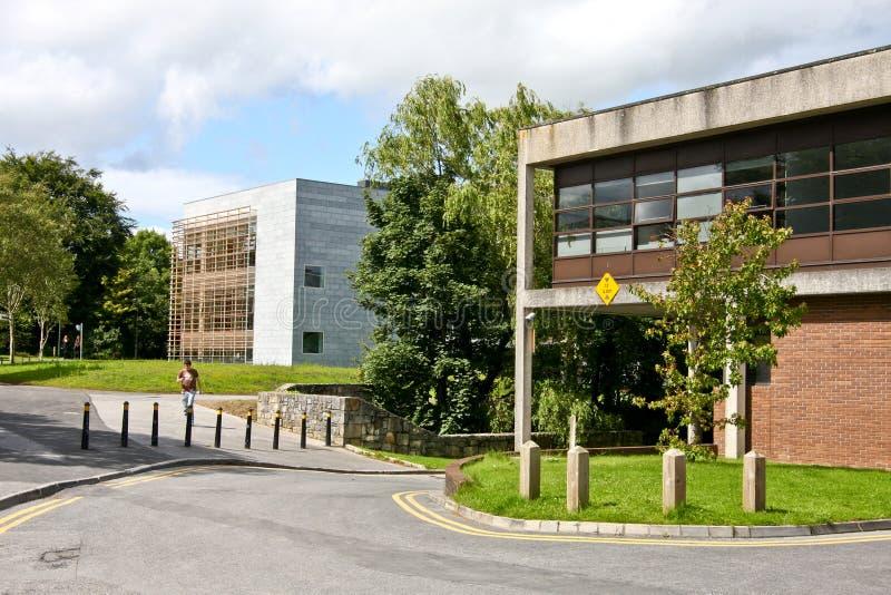 Verzorging en Verloskunde Bibliotheek, de campus van NUI Galway, Ierland royalty-vrije stock foto's