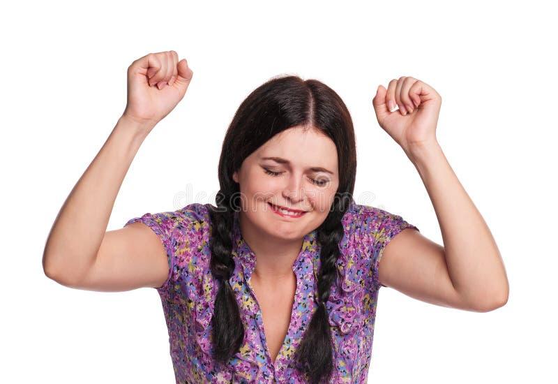 Verzweifelte Frau lizenzfreies stockfoto