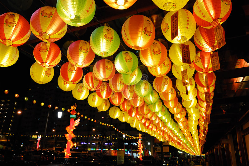 Vesak allument 2008 image stock