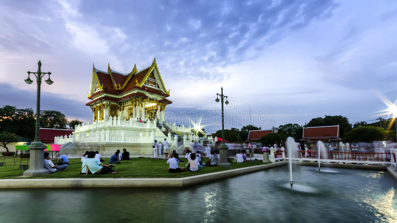 Download The vesak day in thailand editorial photo. Image of temple - 25131446