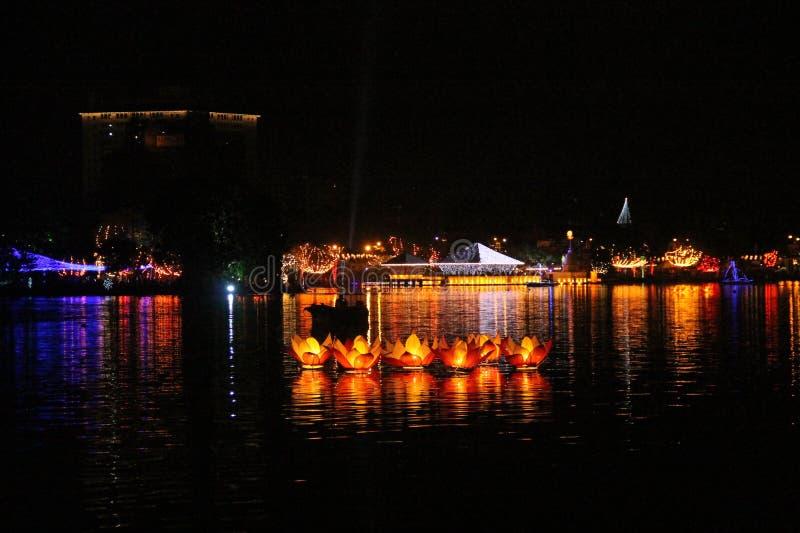 Vesakfestival stock foto