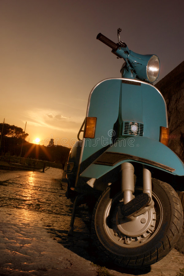 Vespa royalty free stock images