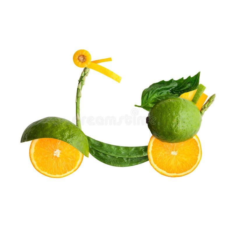 Vespa con sabor a fruta. imagen de archivo libre de regalías