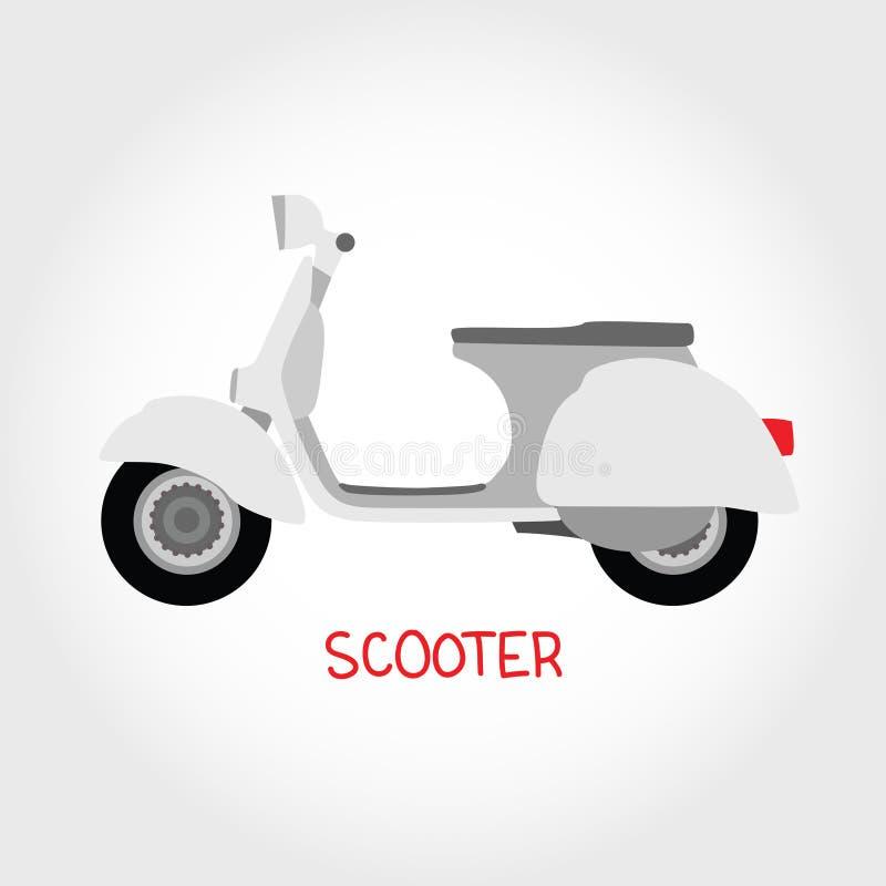 Vespa del vector ilustración del vector