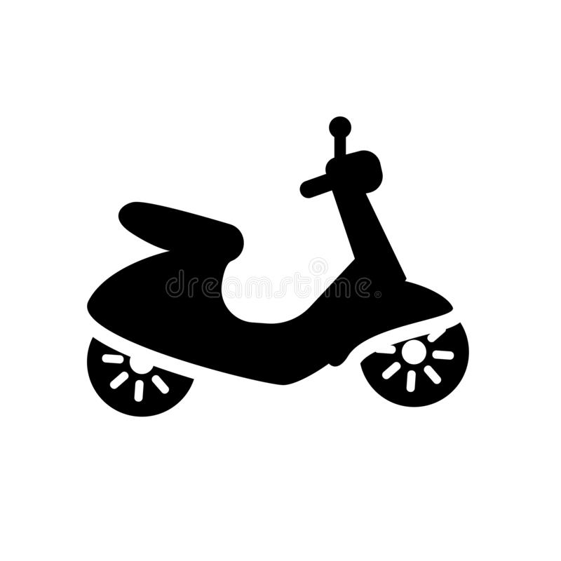 Vespa icon. Trendy Vespa logo concept on white background from T. Ransportation collection. Suitable for use on web apps, mobile apps and print media royalty free illustration