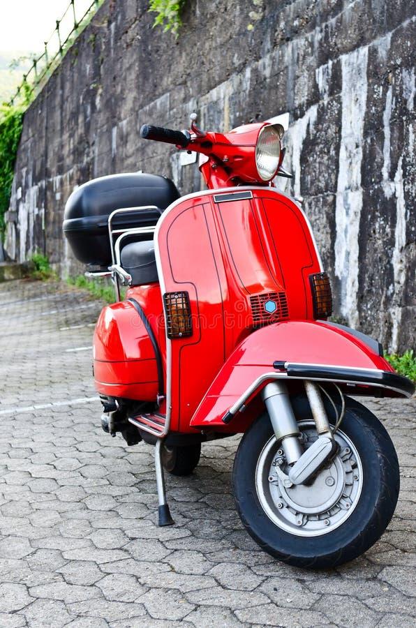 Vespa moped obrazy stock