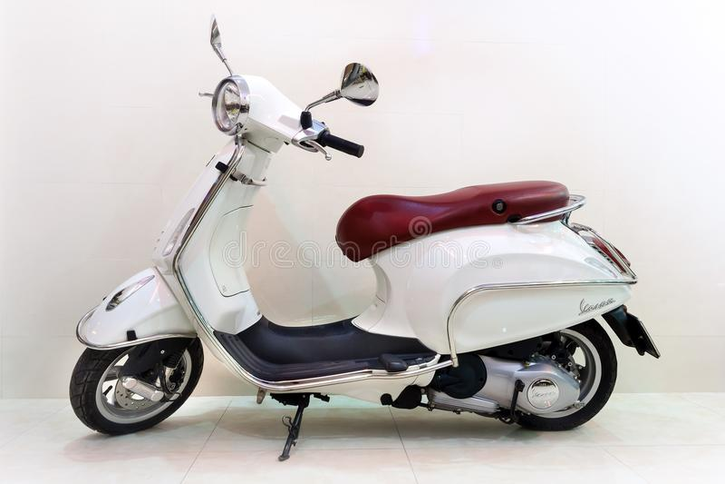 Vespa motocykl fotografia stock