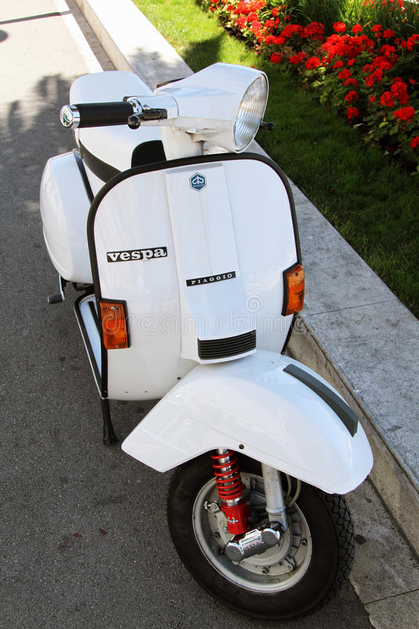 Vespa Motor Scooter