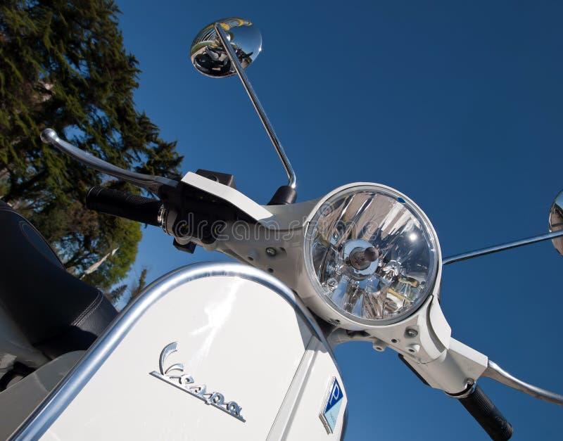 Download Vespa scooter editorial photo. Image of handlebar, italian - 24473556