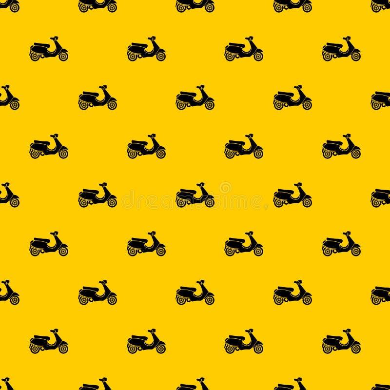Vespa scooter pattern vector royalty free illustration