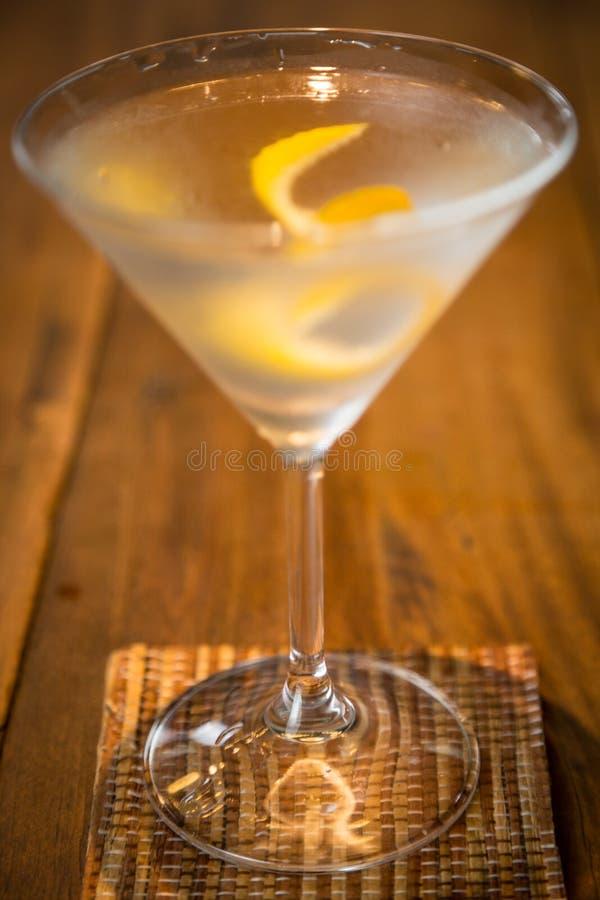 Vesper Martini 007 royalty-vrije stock afbeeldingen