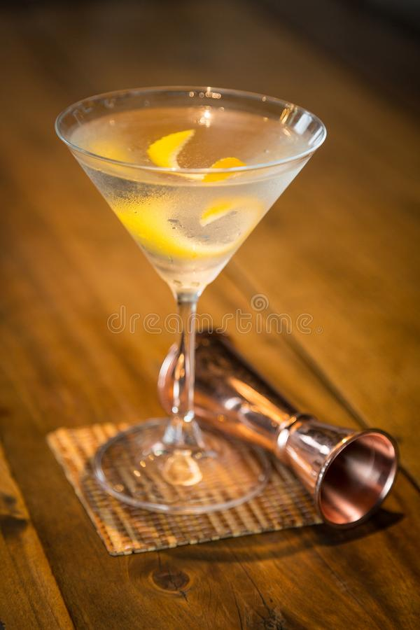 Vesper Martini 007 stock foto