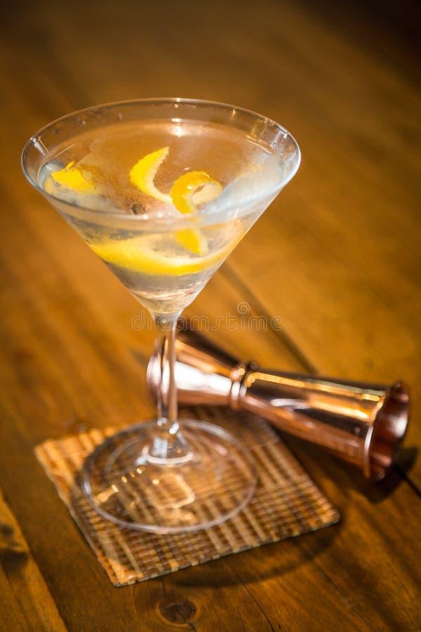 Vesper Martini 007 royalty-vrije stock foto