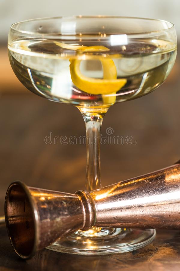Vesper Martini 007 stock foto's