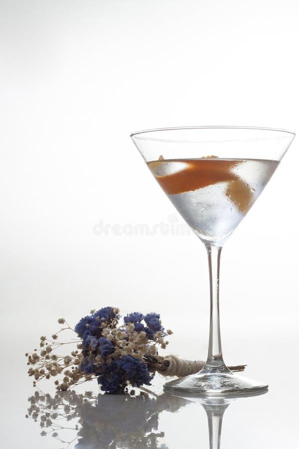 Vesper Martini royalty-vrije stock afbeeldingen