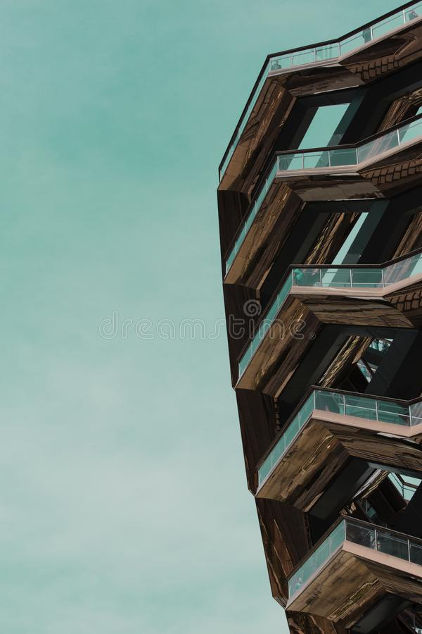 The vessel at hudson yards stock photography
