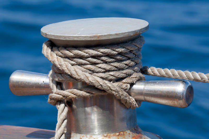 Download Vessel rope stock photo. Image of hemp, secure, boat - 19724522
