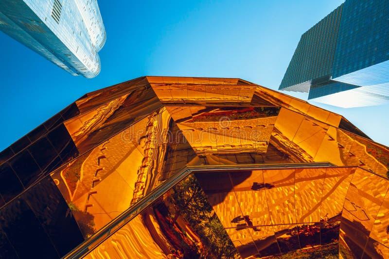 VesselTKA, Ślimakowaty schody, Nowy Jawny punkt zwrotny w Hudson jardach, NYC zdjęcie stock