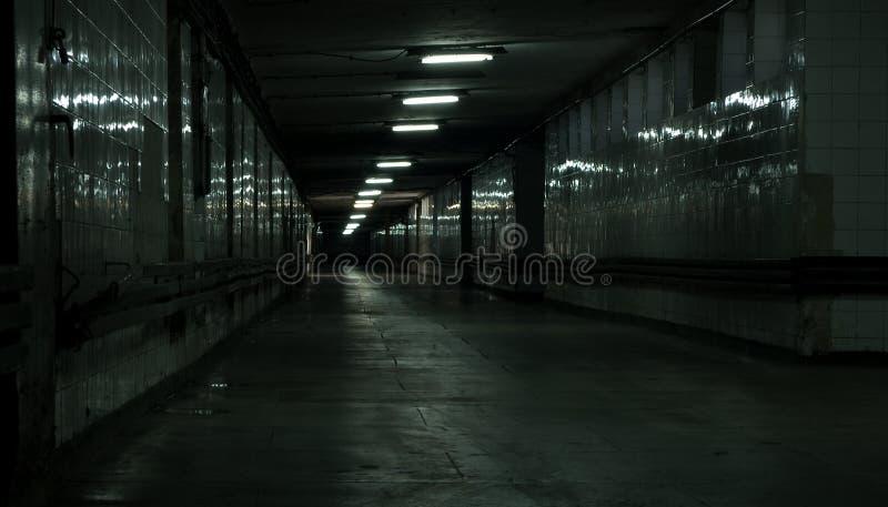 Vestíbulo abandonado imágenes de archivo libres de regalías