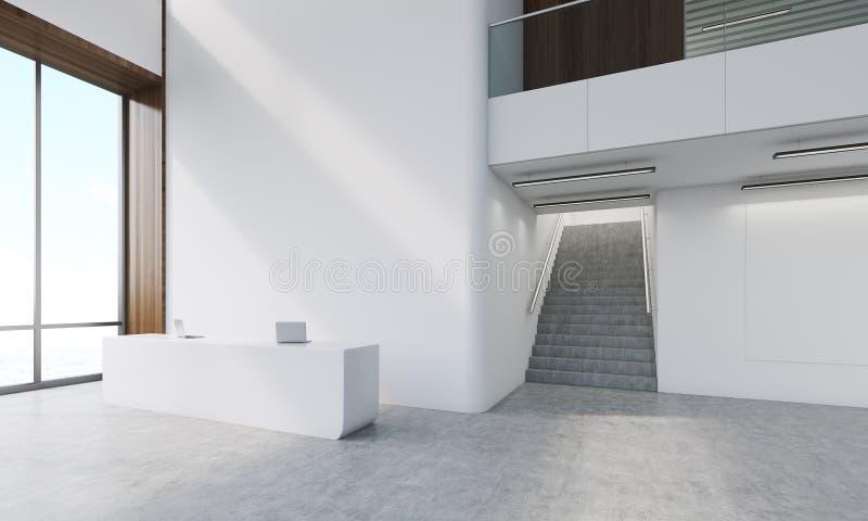 Vestíbulo de la empresa de consultoría ilustración del vector