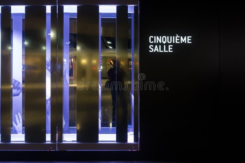 Vestíbulo de los artes del DES del lugar de Montreal foto de archivo libre de regalías