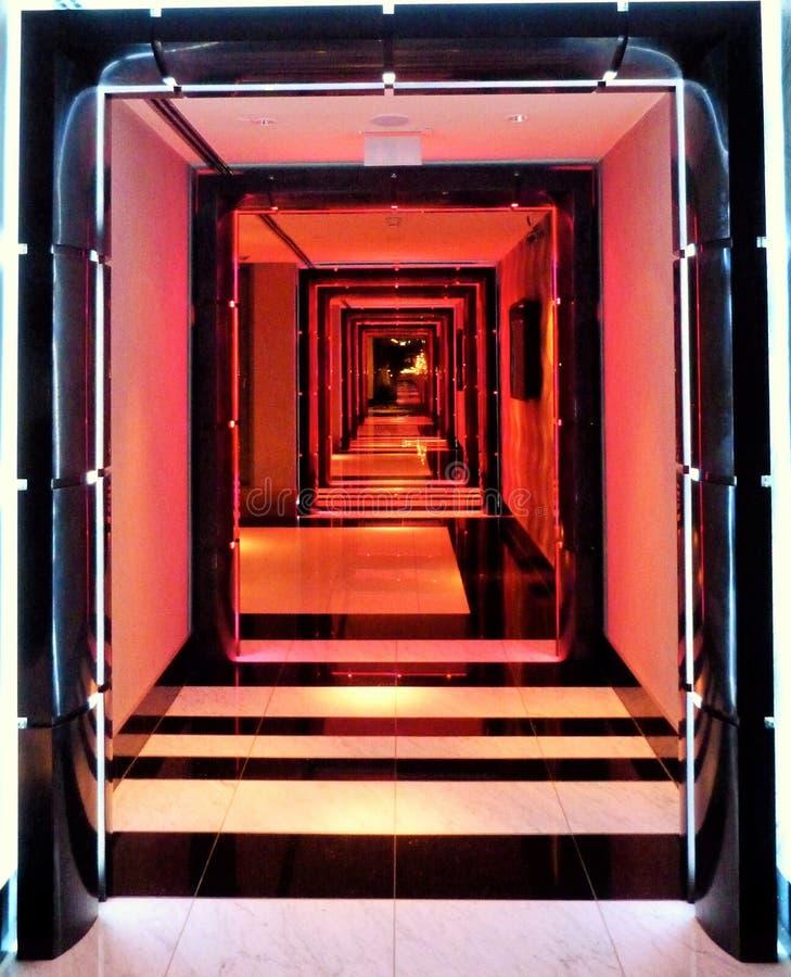 Vestíbulos del hotel imagen de archivo libre de regalías