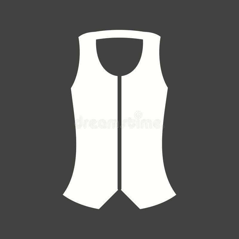 vest royaltyfri illustrationer
