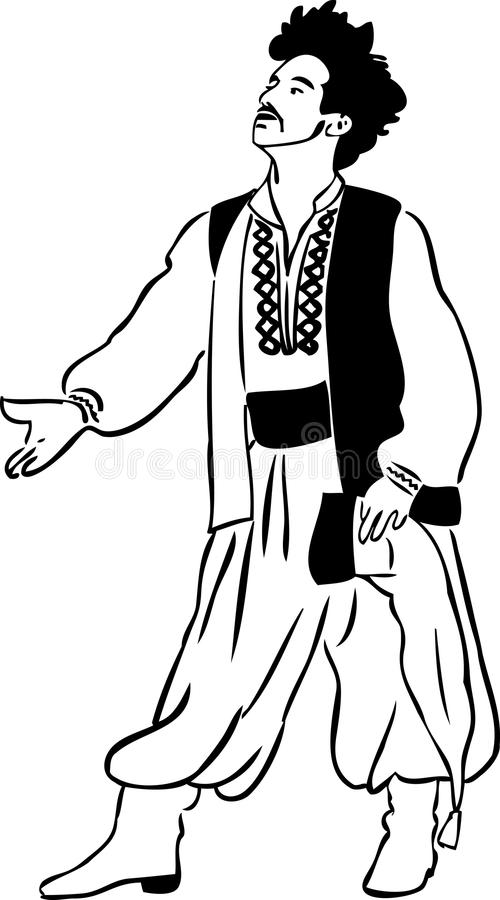 vest för manskjortabyxa vektor illustrationer