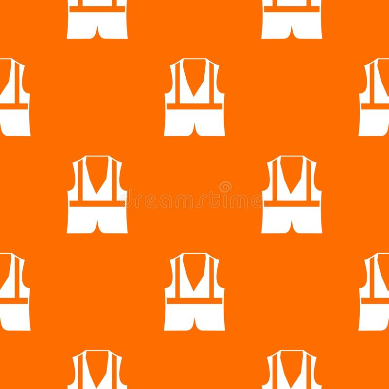 Vest pattern seamless vector illustration