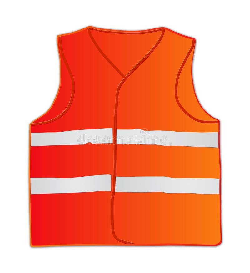 Veste da segurança da emergência ilustração stock