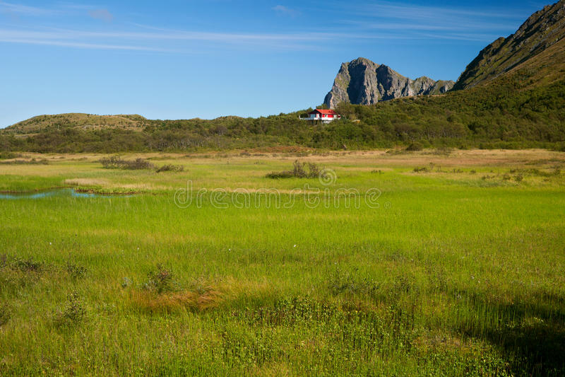 Vesteralen στη Νορβηγία στοκ εικόνες με δικαίωμα ελεύθερης χρήσης