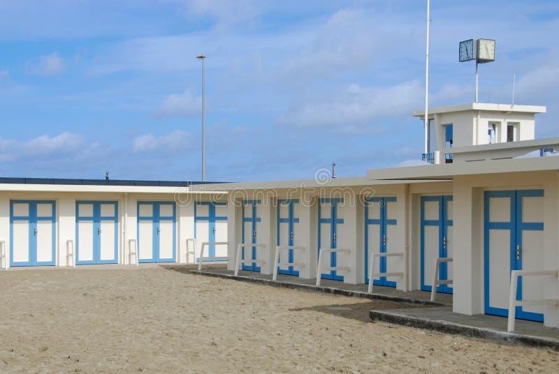 Vestiaires voor het strand royalty-vrije stock foto's