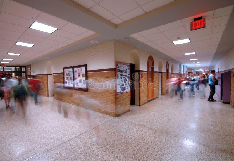 Vestibule 4 d'école photographie stock