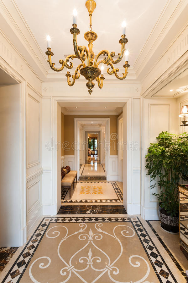 Vestibule interior royalty free stock image
