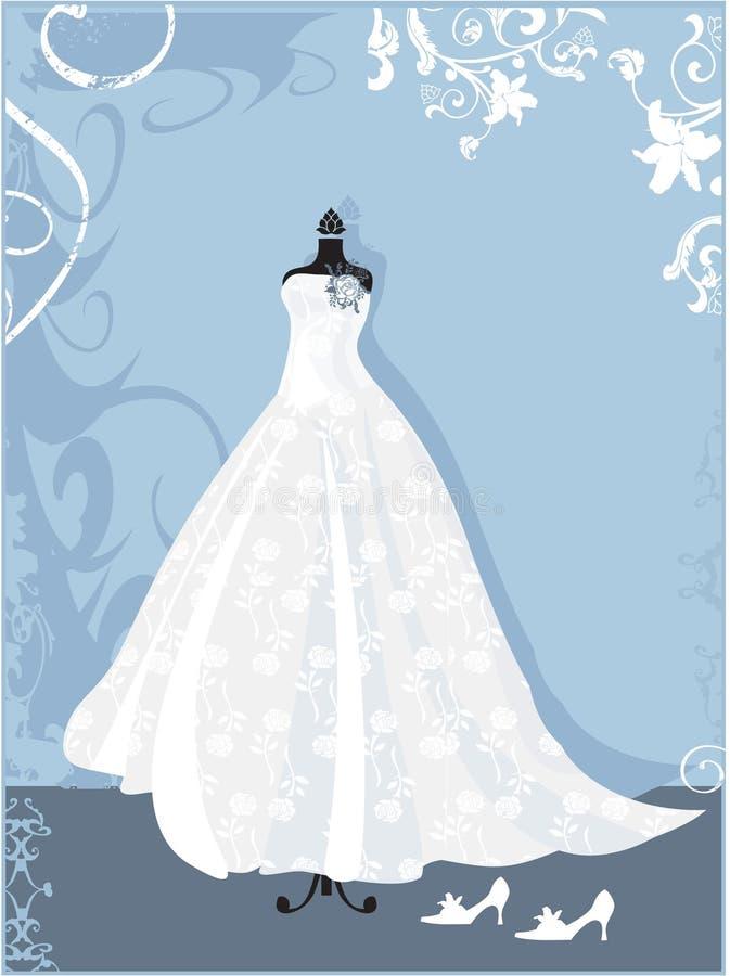 Vestido ilustração royalty free