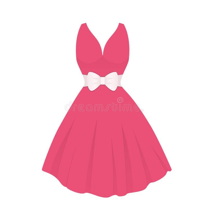 vestido ilustração stock