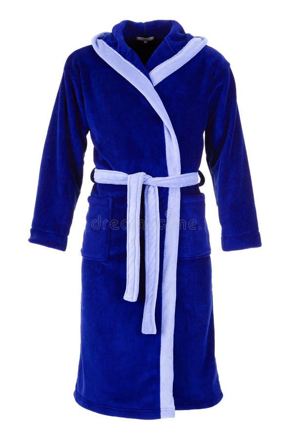 Vestido azul de la mañana imagenes de archivo