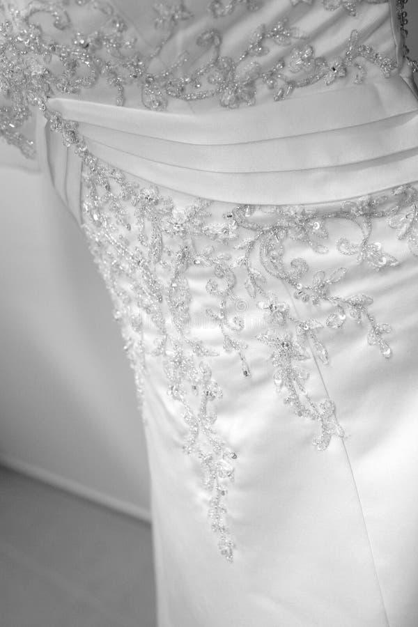 Download Vestido branco imagem de stock. Imagem de mulher, branco - 12801621